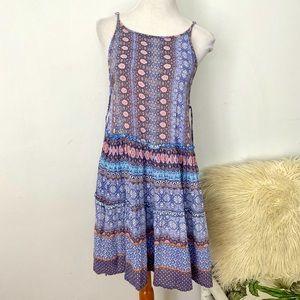 Patrons Of Peace Size S Short Sleeveless Dress